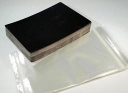 kartonček za uhane in ogrlico 15x20 cm, črne b., 1 kos