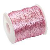 satenasta vrvica 2 mm, roza, 50 m