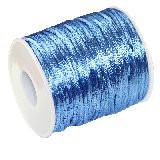 satenasta vrvica 2 mm, modra, 50 m