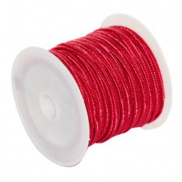 soutache vrvica 2,5 mm, barva: carmine, 4 m