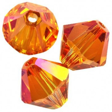 perle Swarovski 4 mm, crystal astral pink, 1 kos