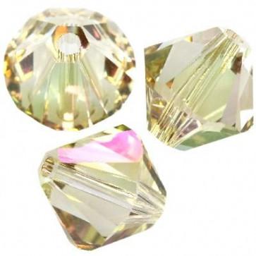 perle Swarovski 4 mm, crystal luminous green, 1 kos
