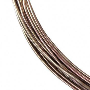 alu barvna žica za oblikovanje, 0.8 mm, rjava, dolžina: 5 m