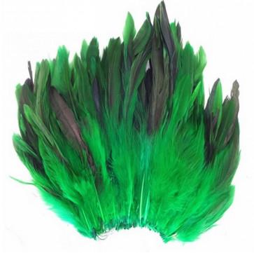 perje 15 cm, t. zelene b., 1 kos