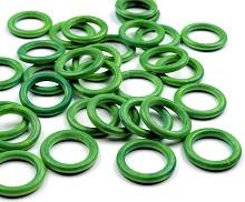 lesen obroč 33 mm, zelen, 1 kos