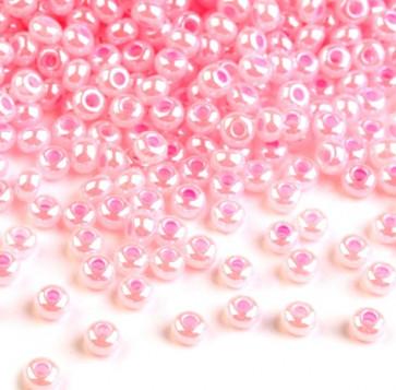 Rocailles perle 2,3 mm, light pink, 25 g