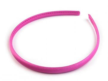 obroč za lase 1 cm, roza b., 1 kos