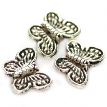 dekorativne perle, kovinske, 10,2 mm, 10 kos