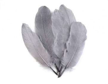perje 16 - 21 cm, temno sivo, 1 kos