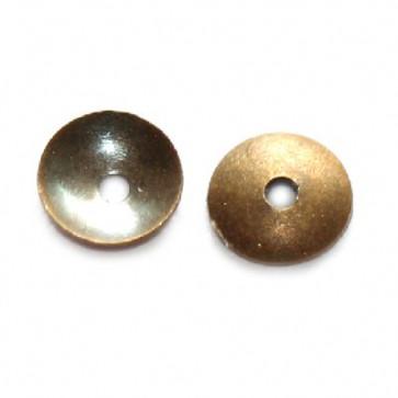 dekorativna kapa 4 mm, antik, 50 kos