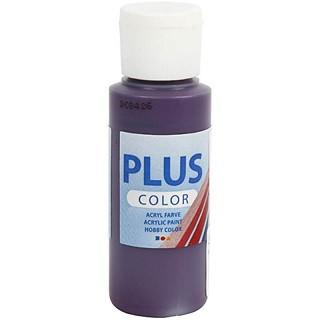 akrilna barva na vodni osnovi, aubergine, mat, 60 ml