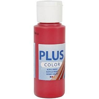 akrilna barva na vodni osnovi, berry red, mat, 60 ml