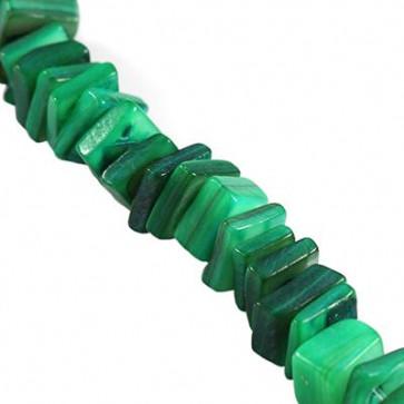 školjke zelene, 1 niz - 90 cm