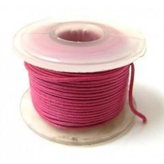 bombažna vrvica roza, 2 mm, dolžina: 25 m