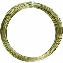 barvna žica za oblikovanje, 2 mm, dolžina: 10 m, zelena