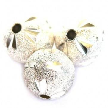 kovinske perle, dekorativne 12 mm, 1 kos