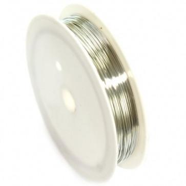 barvna žica za oblikovanje, 0,4 mm, dolžina: 10 m, srebrna
