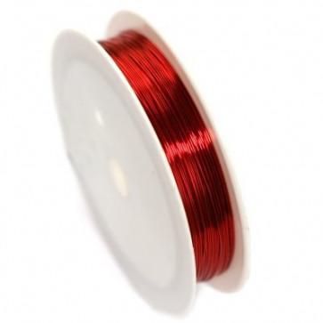 barvna žica za oblikovanje, 0,4 mm, dolžina: 17 m, rdeča