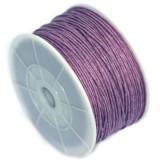 bombažna vrvica 1 mm, vijola, dolžina: 80 m