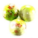 plastične perle, okrogle 8 mm, zelene, 50 gr