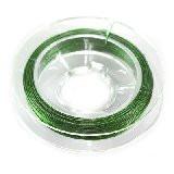 jeklena žica - zajla 0,38 mm, zelena, dolžina, 9 m