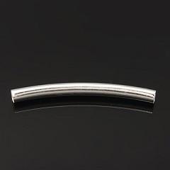dodatek za nakit 41x4 mm, srebrne b., 1 kos