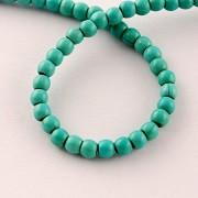 perle iz sintetičnega kamna 4 mm, 1 niz - cca 90 kos