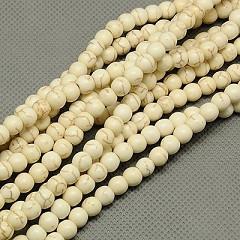 perle - sint. kamen, 10 mm, beige, 1 kos