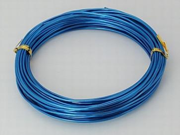 aluminijasta žica za oblikovanje, 1,5 mm, RoyalBlue, dolžina: 10 m