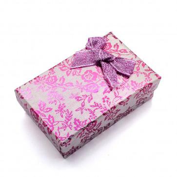 škatla za nakit 93x72x29 mm, vijola barve, 1 kos