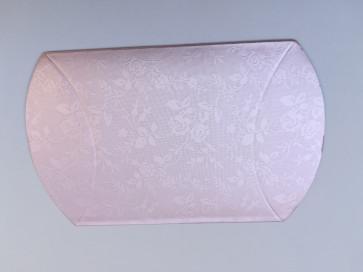 darilna škatla 12x7 cm, sv.roza - svetlikajoča, 1 kos