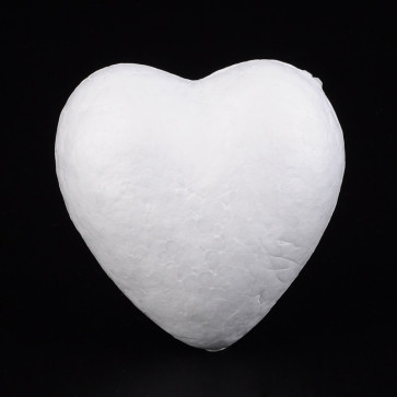 stiropor srce 59x59x31 mm, 1 kos