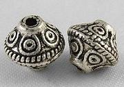 kovinski dodatek 7x6.5 mm, b. starega srebra, brez niklja, 10 ko