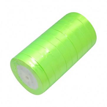 satenast trak zeleno rumen, širina: 20 mm, dolžina: 22 m