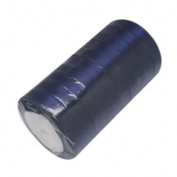 satenast trak Midnight Blue, širina: 20 mm, dolžina: 22 m