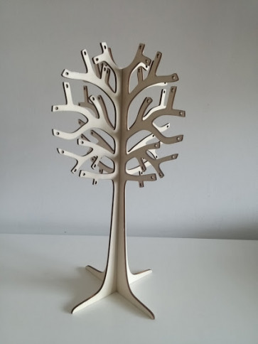 leseno stojalo za uhane - natur, 40 cm/4 mm, 1 kos