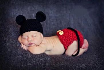 Zaspančki - komplet miška, 1 kos