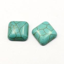 kapljica iz sint. kamna 10 x 10 mm, turkizna, 1 kos