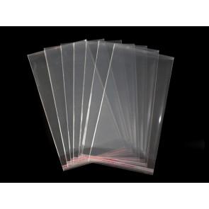 vrečka iz celofana 14x25 cm, prozorna, 10 kos