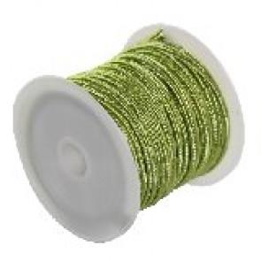 soutache vrvica 2,5 mm, barva: pistachio, 5 m