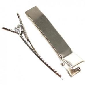 sponka 44 mm, srebrne barve, 1 kos