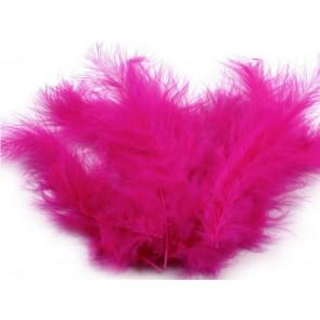 perje 10-17 cm, pink, 1 kos