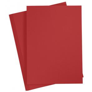 papir A4, rdeča b., 210x297 mm, 70 g, 1 kos