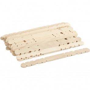 konstrukcijske lesene palčke, 11.4 x 10 mm, naravne, 40 kos