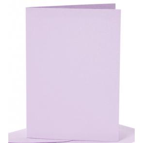 osnova za vabila, 10,5x15 cm, 210 g,  pastelno vijolična b., 1 kos