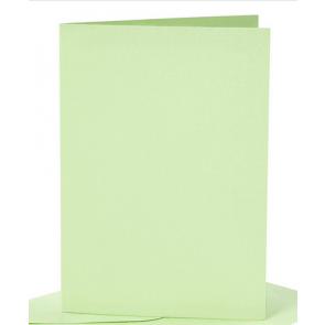 osnova za vabila, 10,5x15 cm, 210 g,  pastelno zelena b., 1 kos