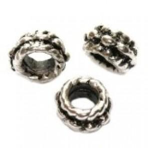 kovinski dodatek za perle 8 mm, 1 kos