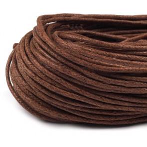 bombažna vrvica t. rjava, 2 mm, dolžina: 10 m