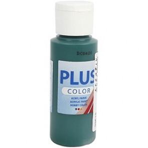 akrilna barva na vodni osnovi, dark green, mat, 60 ml
