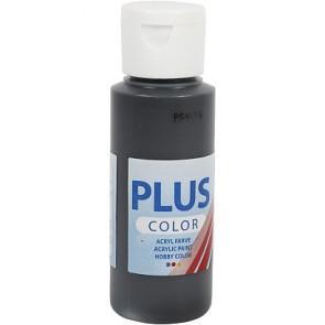 akrilna barva na vodni osnovi, black, mat, 60 ml